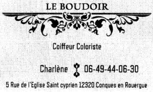 2 LOGO PRADALIER LE BOUDOIR Coiffure