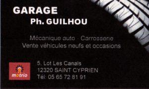 37 LOGO GUILHOU Garagiste