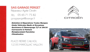 4 LOGO PERGET Garage MARCILLAC