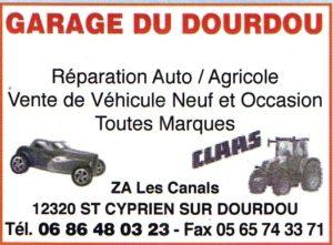 51 LOGO GARAGE DU DOURDOU