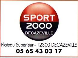 9 LOGO SPORT 2000 Decazeville